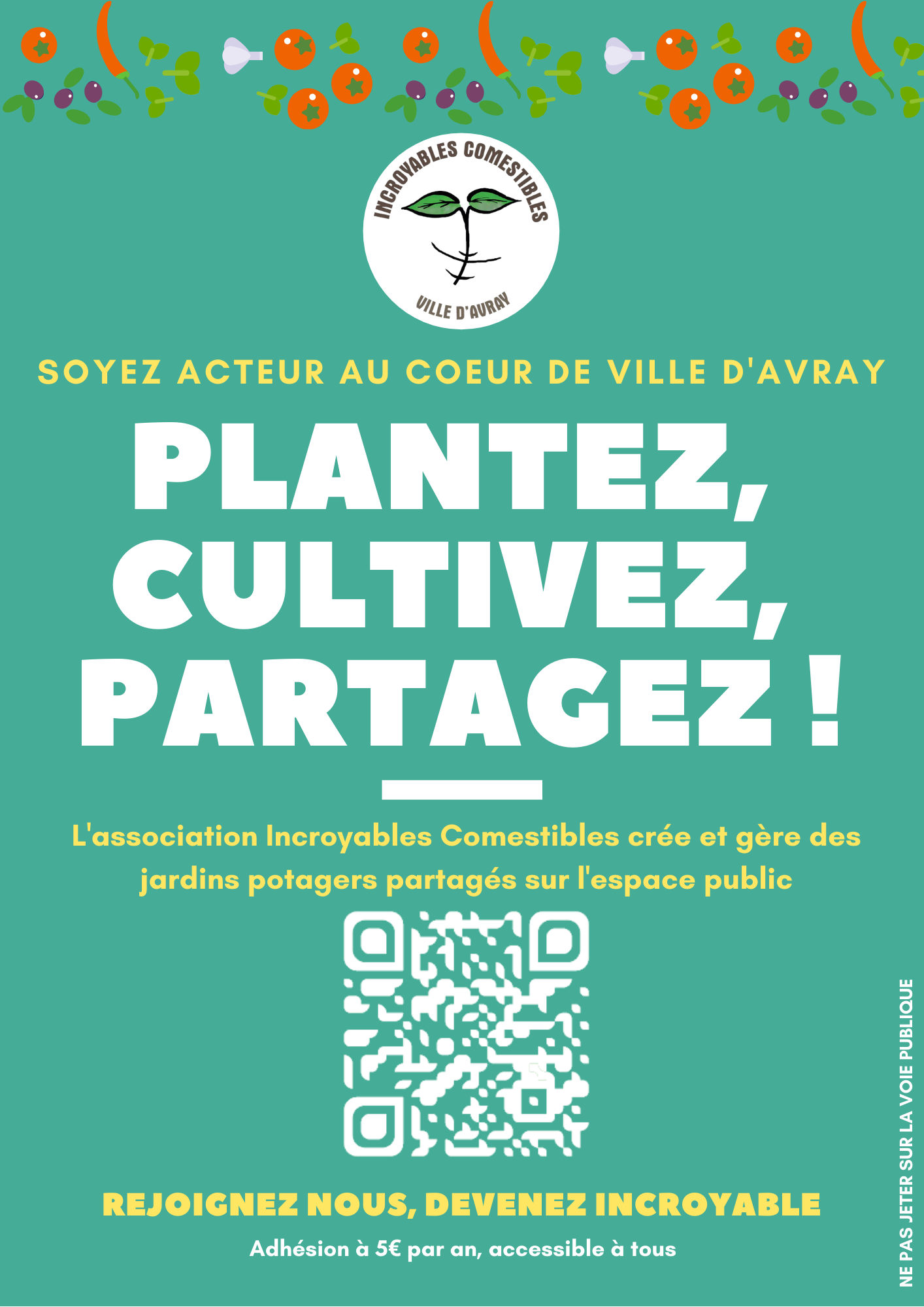 Le 29 mai, retrouvez-nous au Weekend de l'Environnement